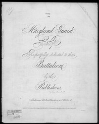 Maryland guard galop [sheet music]