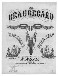 The Beauregard Manassas quickstep [sheet music]