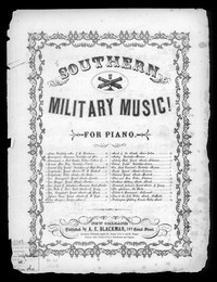 John Morgan's escape [sheet music]