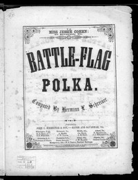 Battle-flag polka [sheet music]