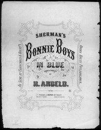 The Bonny boys in blue [sheet music]