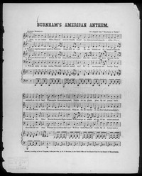 Burnham's American anthem [sheet music]