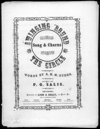 Swinging 'round the circle [sheet music]