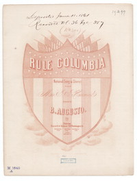 Rule Columbia [sheet music]