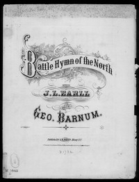 Battle hymn of the north [sheet music]