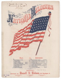 Stand by the Union, army song and chorus [sheet music]