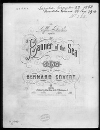 The Banner of the Sea [sheet music]
