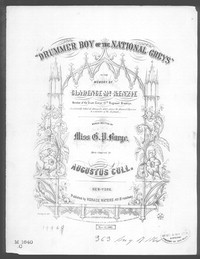 Drummer boy of the national greys [sheet music]