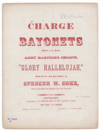 Charge bayonets [sheet music]