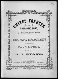 United forever! [sheet music]