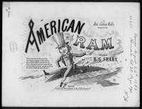 The American ram [sheet music]