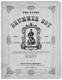 The Dying drummer boy [sheet music]