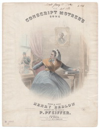 The Conscript's mother [sheet music]