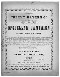 Benny Haven's o [sheet music]