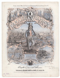 Yankee Robinson at Bull Run [sheet music]
