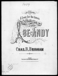 Three cheers for Abe and Andy [sheet music]