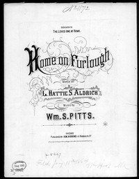 Home on furlough [sheet music]