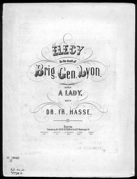 Elegy [sheet music]