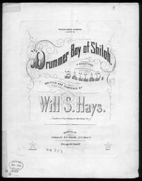The Drummer boy [sheet music]