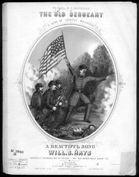The Old sergeant [sheet music]