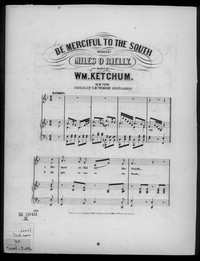 Be merciful to the south [sheet music]
