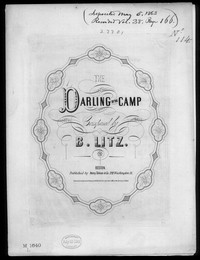 The Darling of the camp [sheet music]