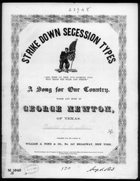Strike down secession types [sheet music]
