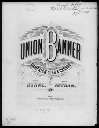 The Union banner [sheet music]