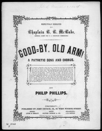 Good-by, old arm [sheet music]