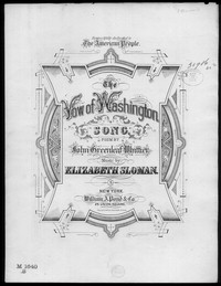 The Vow of Washington [sheet music]