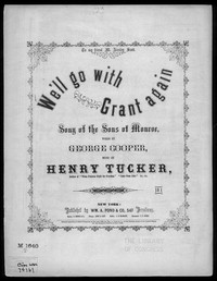 We'll go with Grant again [sheet music]