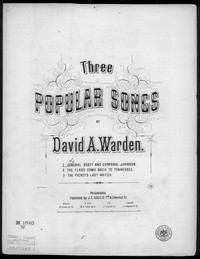 General Scott and Corporal Johnson [sheet music]