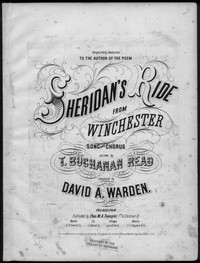 Sheridan's ride [sheet music]