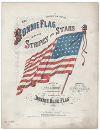 The Bonnie flag with the stripes and stars [sheet music]