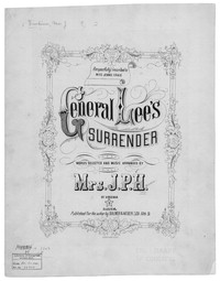 General Lee's surrender [sheet music]