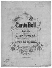 Carrie Bell [sheet music]