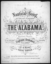 The Alabama [sheet music]