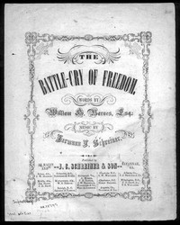 The battle-cry of freedom [sheet music]