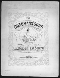 The Freedman's song [sheet music]