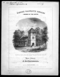 Those Sabbath bells [sheet music]
