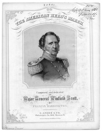 The American hero's march [sheet music]