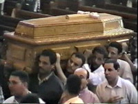 The funeral of Ragheb Moftah at St. Mark's Cathedral, Cairo [videorecording]
