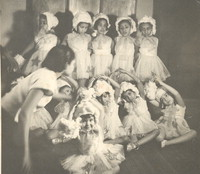 Katherine Dunham and her students [photograph]