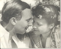 Katherine Dunham and her husband, John Pratt in an undated photograph [photograph]