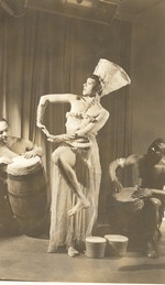 Katherine Dunham in the 1940 Broadway hit production of Cabin in the Sky, co-choreographed by Dunham and George Balanchine [photograph]
