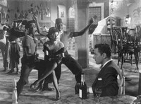 Katherine Dunham in the 1948 Universal International Pictures Co., Inc. film, Casbah [photograph]