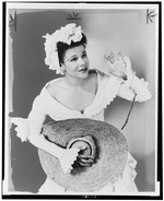 Katherine Dunham in costume for Tropical Revue (1945), at New York's Century Theatre [photograph]