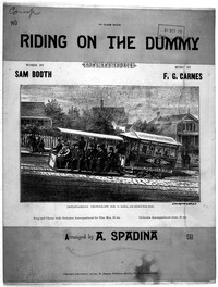 Riding on the dummy [sheet music]
