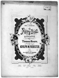 The fairy boat [sheet music]