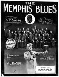 The Memphis Blues [sheet music]